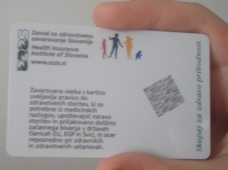 Z evropsko kartico zdravstvenega zavarovanja brezskrbneje na počitnice