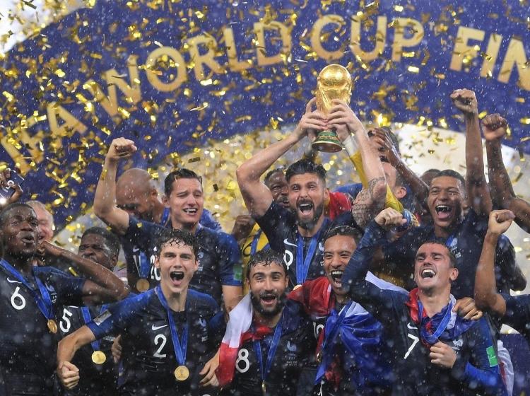 Francozi v Rusiji 2018 zasluženo postali svetovni nogometni prvaki