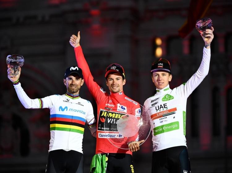 Vuelta 2019: Triumf Primoža Rogliča
